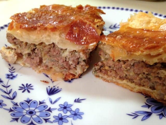 Romanian Easy Meat Pie