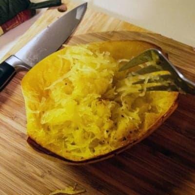 Reteta Simpla de Dovleac Spaghetti la Cuptor
