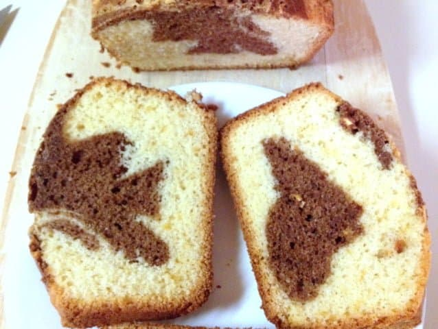 Sweet Bread With Cocoa