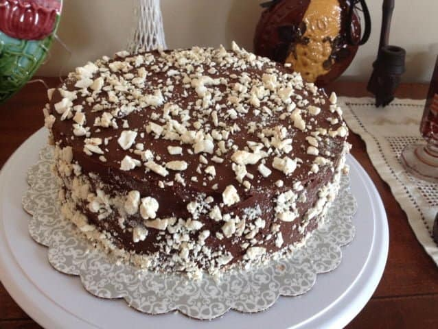 Chocolate Ganache Meringue Torte