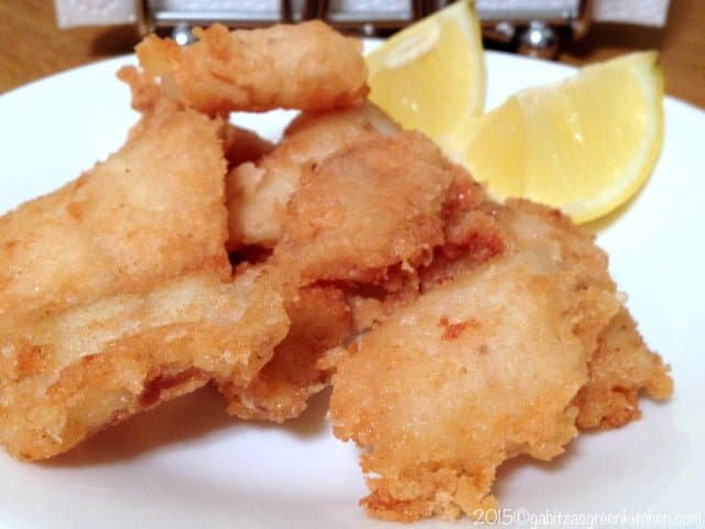 Romanian Style Fried Fish