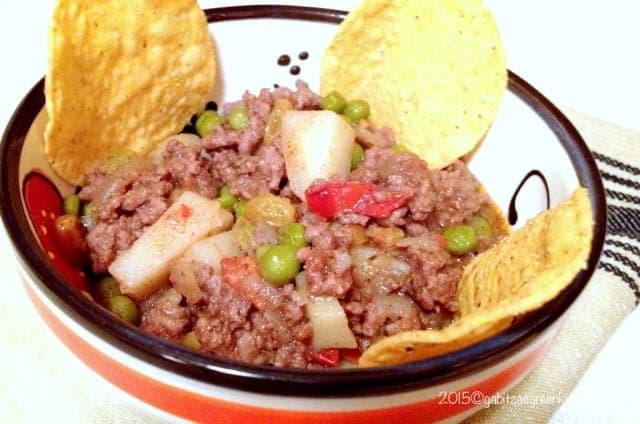 Easy Authentic Mexican Picadillo With Potatoes