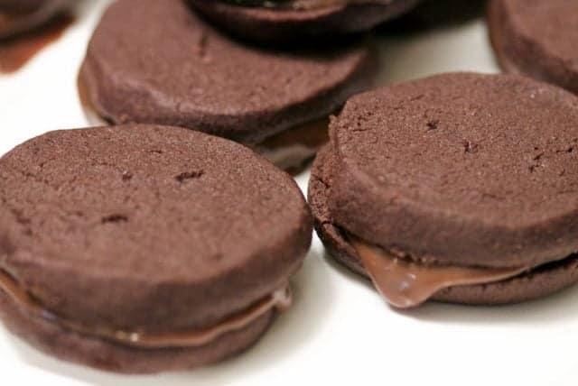 Fursecuri Umplute Cu Ganache de Ciocolata Si Earl Grey