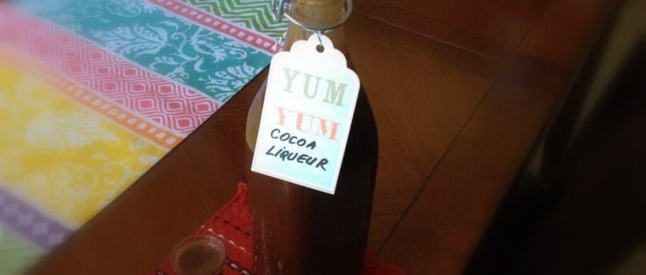Lichior de Cacao Simplu- Reteta Veche