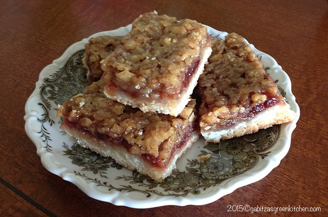 Saxon Walnut and Jam bars