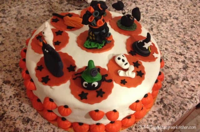 My First Halloween Cake