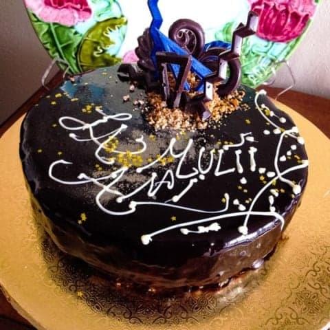 Tort Cu Mousse De Ciocolata Si Crema De Vanilie1