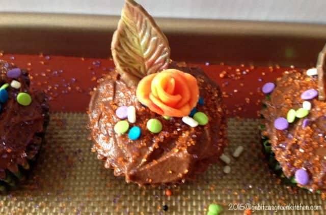 Cupcakes Cu Ganache De Ciocolata Si Rom