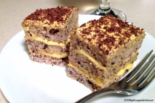 Prajitura Regala Cu Crema De Vanilie Si Portocale