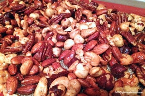 Red Chile Nut Mix- Great Snack