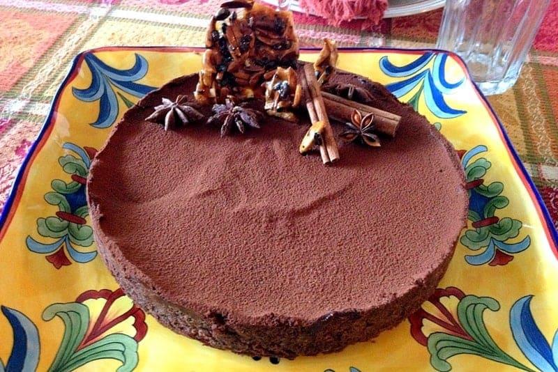 Tarta De Ciocolata cu Scortisoara si Anason