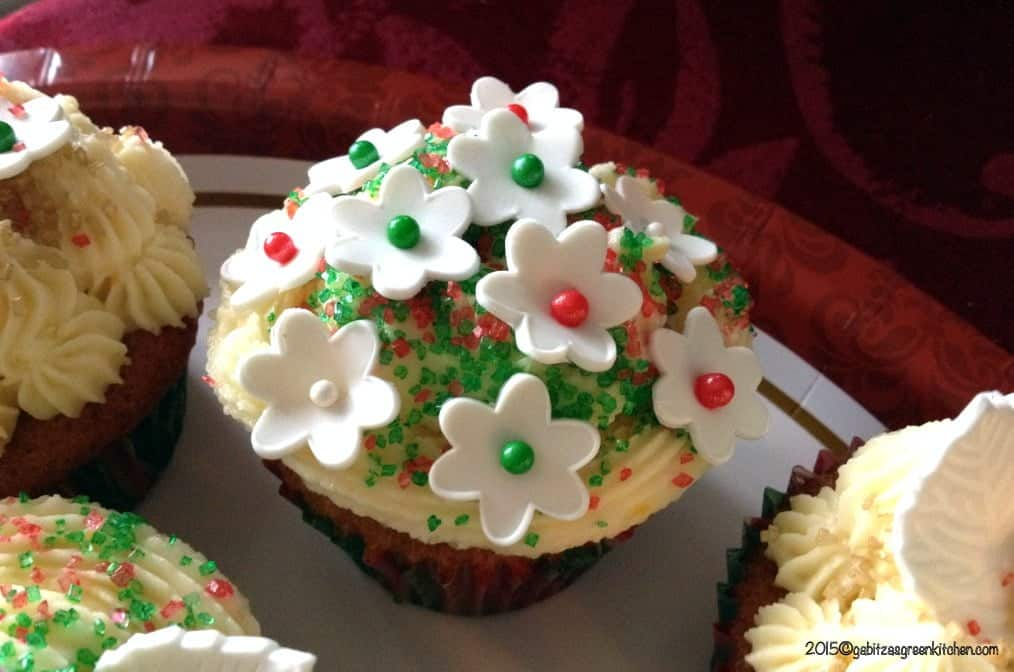 Cupcakes cu Portocale si Crema Mascarpone