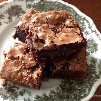 Brownies Cu Cafea Si Ciocolata