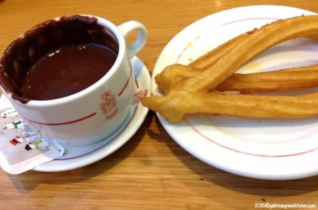 Hot Chocolate- Spanish Style