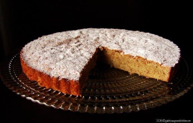 Almond Cake Recipe- Tarta De Santiago