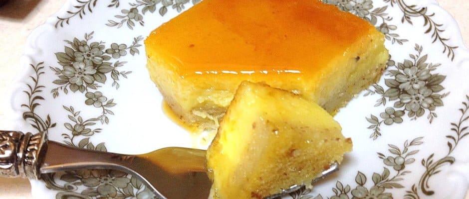 Orange-Almond Flan Recipe