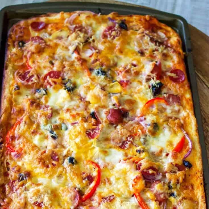 Aluat Simplu De Pizza
